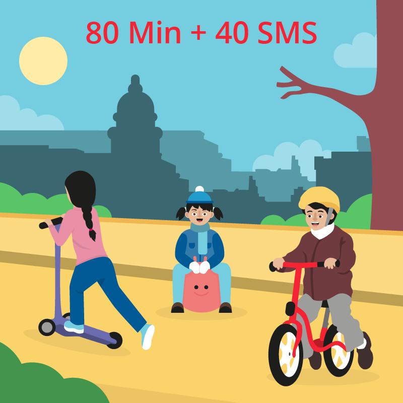 Bono Cubacel 80 Min + 40 SMS