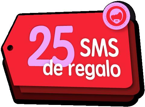 25 SMS gratis por el Día de los Padres